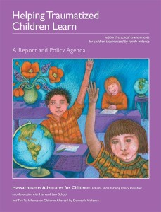 Cover of Helping Traumatized Children Learn Volume 1 - Artwork by Phoebe Stone