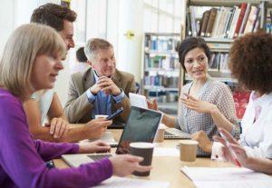 Teacher Staff Discussion