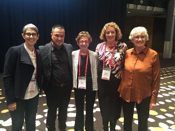Susan Cole delivers keynote address at conference in Australia